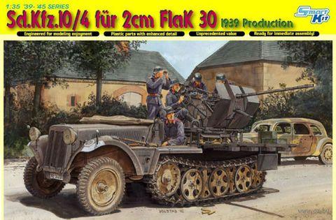 """Полугусеничный тягач """"Sd.Kfz. 10/4 für 2cm FlaK 30"""" (масштаб: 1/35) — фото, картинка"""