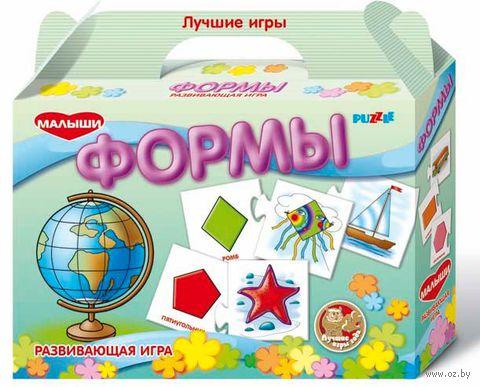 """Пазл """"Формы"""" (20 элементов)"""