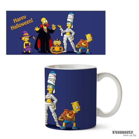 """Кружка """"Хэллоуин Симпсоны"""""""