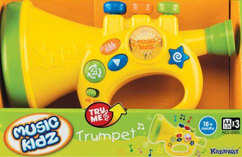 """Музыкальная игрушка """"Труба"""" (со световыми эффектами)"""