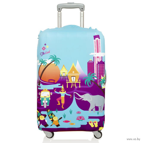 """Чехол для чемодана """"Thailand"""" (средний)"""