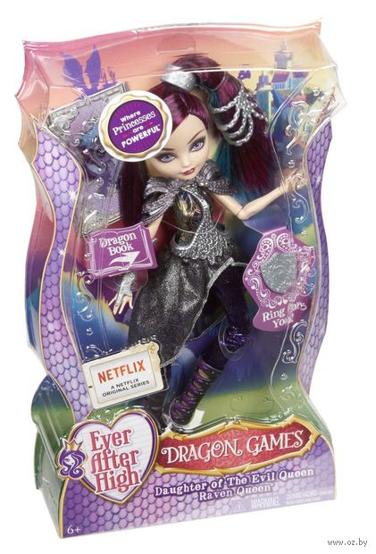 "Кукла ""Ever After High. Игры Драконов. Рейвен Квин"""