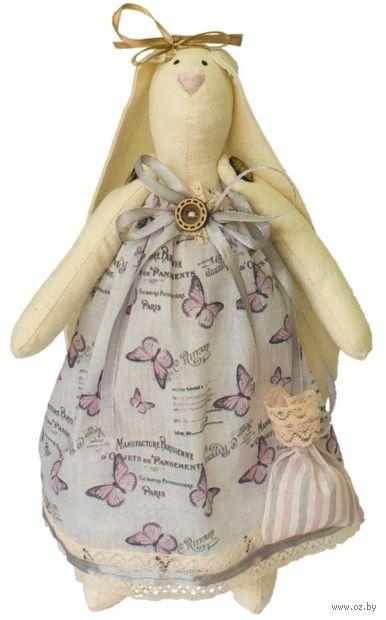 """Набор для шитья из ткани """"Кукла. Зайка Вероника"""" — фото, картинка"""