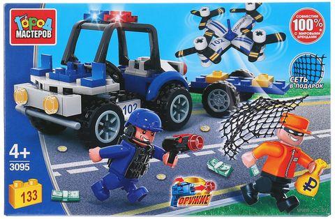 """Конструктор """"Полиция. Операция спецназа"""" (133 детали) — фото, картинка"""