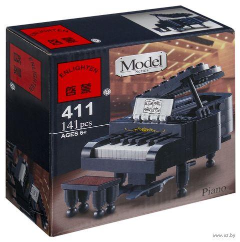 """Конструктор """"Model. Пианино"""" (141 деталь) — фото, картинка"""