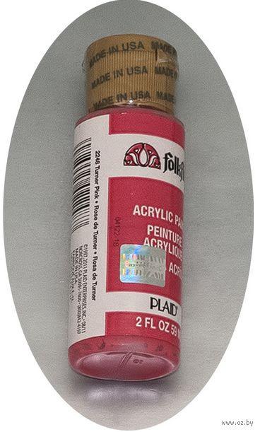 "Краска акриловая ""FolkArt. Acrylic Paint"" (темно-розовый, 59 мл; арт. PLD-02248)"