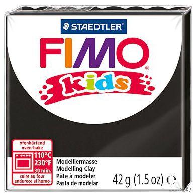 """Глина полимерная """"FIMO Kids"""" (черный; 42 г)"""