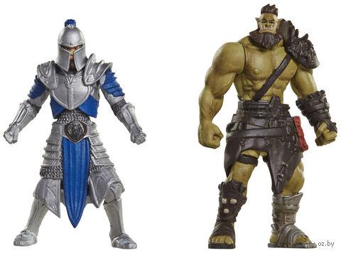"""Набор фигурок """"Warcraft. Воин Орды и Солдат Альянса"""" (7 см) — фото, картинка"""