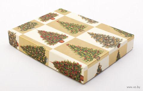"Подарочная коробка ""Christmas Trees"" (18х23,5х3,5 см) — фото, картинка"