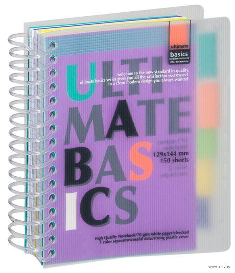 """Блокнот в клетку """"Ultimate Basics"""" (А6) — фото, картинка"""
