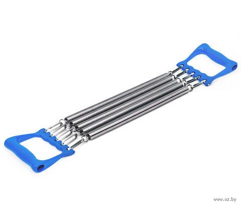 Эспандер плечевой ES-101 (металлический; синий) — фото, картинка
