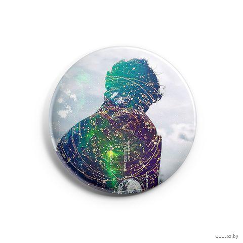 "Значок маленький ""Шерлок"" (арт. 565) — фото, картинка"