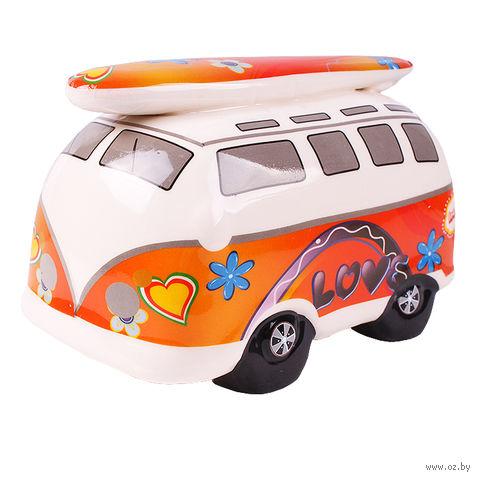 """Копилка """"Пляжный автобус"""" (в ассортименте) — фото, картинка"""