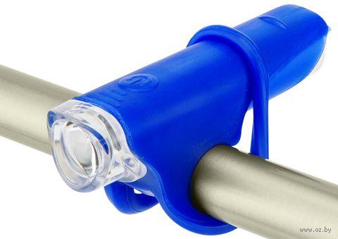 """Фонарь передний для велосипеда """"JY-267 G"""" (синий) — фото, картинка"""