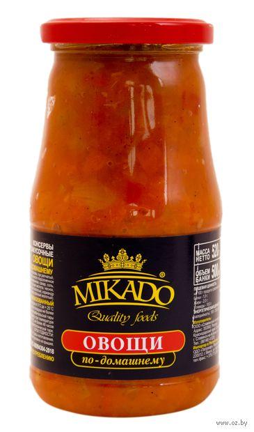 "Овощи ""Mikado. По-домашнему"" (500 мл) — фото, картинка"