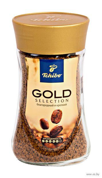 """Кофе растворимый """"Tchibo. Gold Selection"""" (95 г) — фото, картинка"""