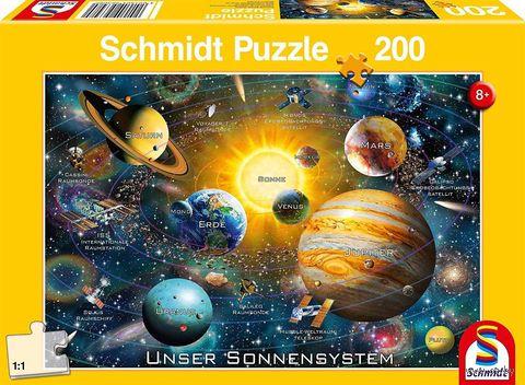 "Пазл ""Солнечная система"" (200 элементов) — фото, картинка"