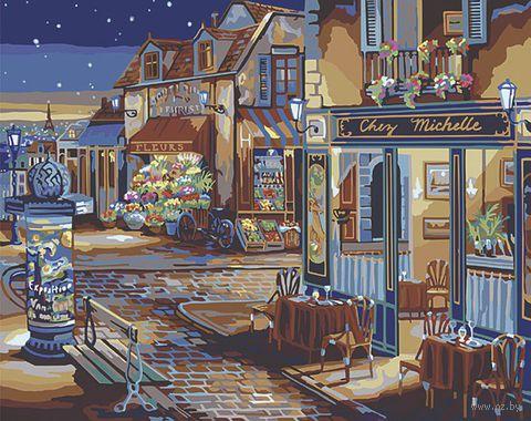 """Картина по номерам """"Звездная ночь"""" (410х510 мм; арт. PLD-21757)"""