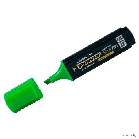 """Маркер текстовый """"HI-700C"""" (зеленый; 5 мм)"""