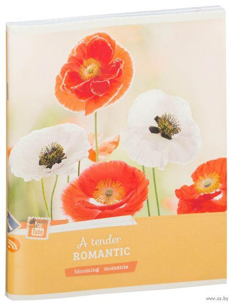 """Тетрадь в клетку 80 листов """"Цветы. Blooming Moments"""""""