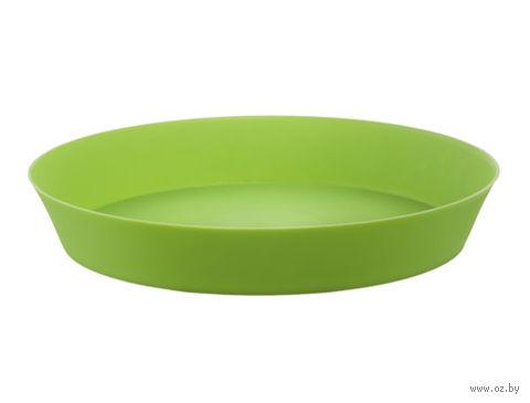 """Подставка для цветочного горшка """"Фиолек"""" (14 см; зеленая) — фото, картинка"""