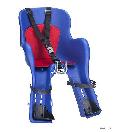 """Кресло велосипедное детское """"KIKI"""" (синее) — фото, картинка"""