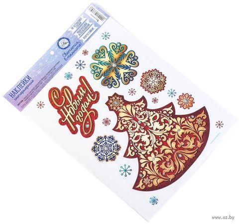 """Наклейки декоративные """"Новогоднее торжество"""" (арт. 10972386) — фото, картинка"""