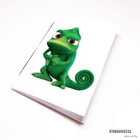 "Блокнот ""Рапунцель. Хамелеон"" (А7; арт. 232) — фото, картинка"
