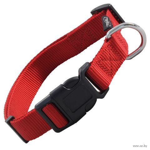 Ошейник (27-37 см; красный) — фото, картинка