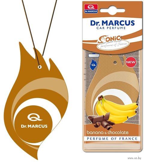 """Ароматизатор подвесной сухой """"Sonic Cellulose Product"""" (Banana&Chocolate; арт. 22114) — фото, картинка"""