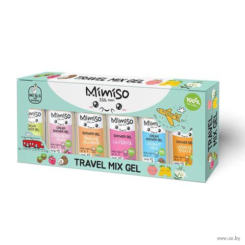 """Подарочный набор """"Travel mix gel"""" (3 геля для душа, 3 крем-геля для душа) — фото, картинка"""
