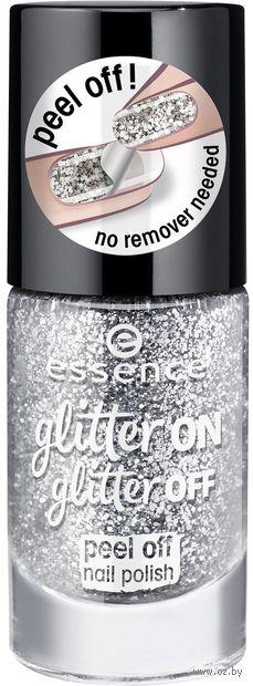 "Лак для ногтей ""Glitter On Glitter Off"" тон: 01 — фото, картинка"