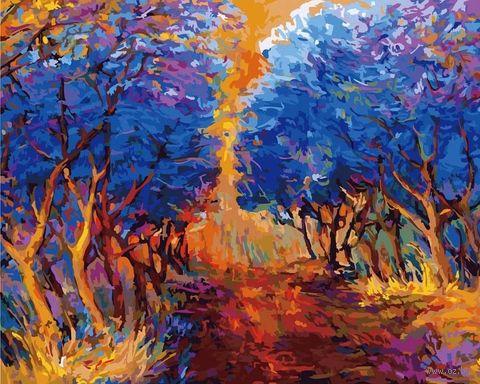 """Картина по номерам """"Осенний лес"""" (400х500 мм)"""