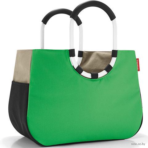 "Сумка ""Loopshopper"" (L, patchwork green)"