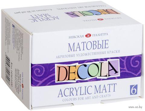 """Краски акриловые """"Decola"""" (6 цветов) — фото, картинка"""