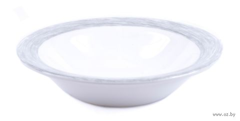 "Салатник стеклокерамический ""Brush Grey"" (120 мм; арт. L0628) — фото, картинка"
