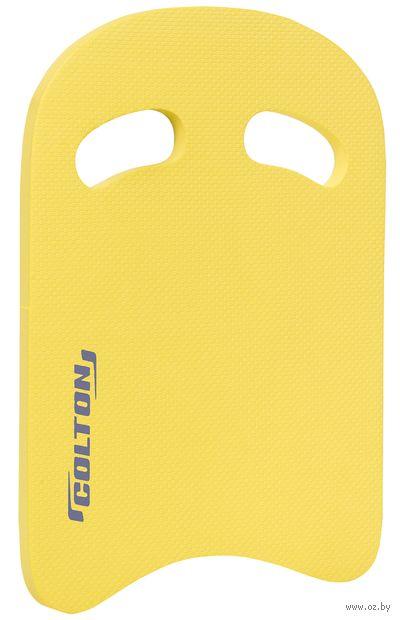 Доска для плавания SB-101 (жёлтая) — фото, картинка